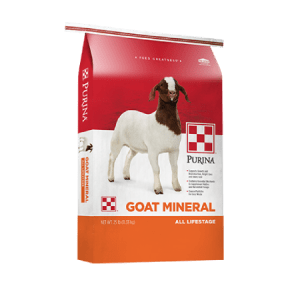 Purina Goat Mineral For Animal Health