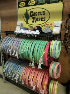 Cactus Ropes at Pasturas Los Alazanes in Dallas, Texas.