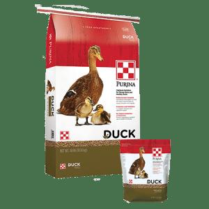 Purina Duck Feed Pellets