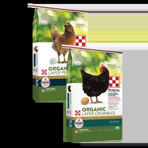 Purina Organic Layer Crumbles in 35-lb Feed Bag