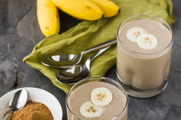 Carmelized Banana Milkshake