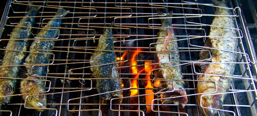 Grilled Sardines in Herb Ghee