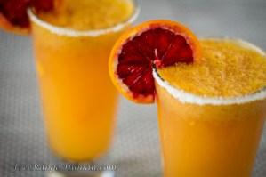 Blood Orange Mango Margarita