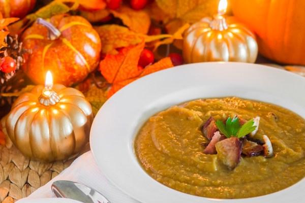 Pumpkin Bacon Soup