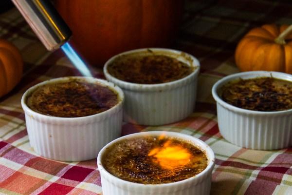 Pumpkin Pie Crème Brûlée