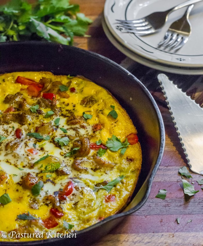 Crawfish Frittata