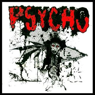 """Psycho 'Vertigo' 7"""" Vinyl EP (Buzzsaw Shaped)"""