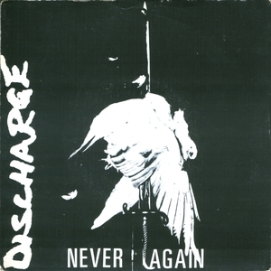Discharge - Never Again EP vinyl