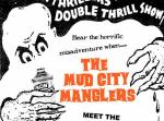 "Mud City Manglers / Plastered Bastards - Split 7"" (Marbled Vinyl"
