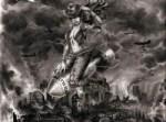 """Rawhide - Built To Blow 7"""" Vinyl EP (Bestial Mockery)"""