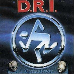 DRI - Crossover LP (clear vinyl)