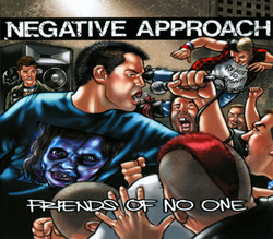 Negative Approach 'Friends Of No One' GREEN Vinyl EP