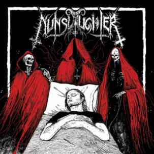 "Nunslaughter/Unburied - Split 7"" Vinyl EP"