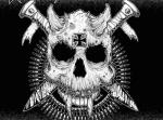 "Panzerbastard / Rawhide split 7"" vinyl EP"