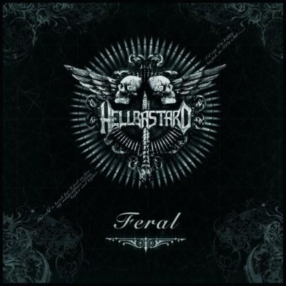 Hellbastard - Feral CD (embossed digipak + bonus track)