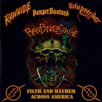 "Whipstriker / Rawhide / Panzerbastard - Tour 7"" vinyl EP"