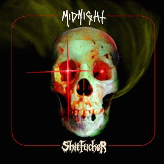 "Midnight / Shitfucker - split 7"" vinyl EP"