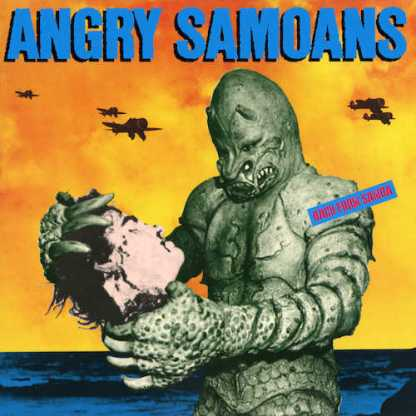 Angry Samoans - Back From Samoa LP (Yellow vinyl)