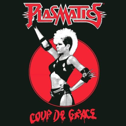 Plasmatics - Coup De Grace LP (red vinyl + poster)