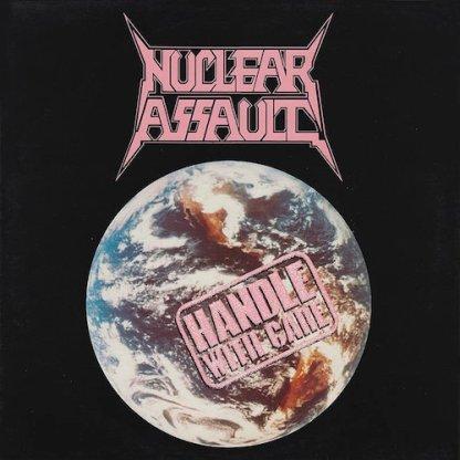 Nuclear Assault - Handle With Care LP (splatter vinyl)