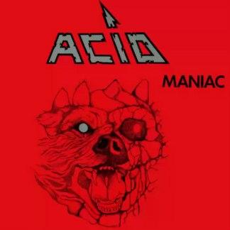 Acid - Maniac LP (silver vinyl)