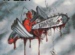 Razor - Violent Restitution LP CLEAR/ RED SPLATTER