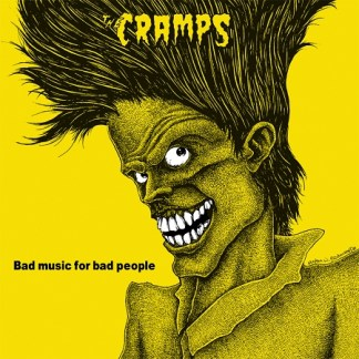 Cramps - Bad Music For Bad People LP (yellow vinyl)