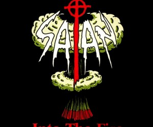 "Satan - Into the Fire / Kiss of Death LP + 7"" (green vinyl)"