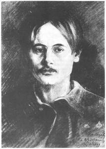 Ritratto di Alfred Jarry, F. A. Cazals, 1897