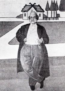 Firmin Gémier nel ruolo di Ubu re nel 1908