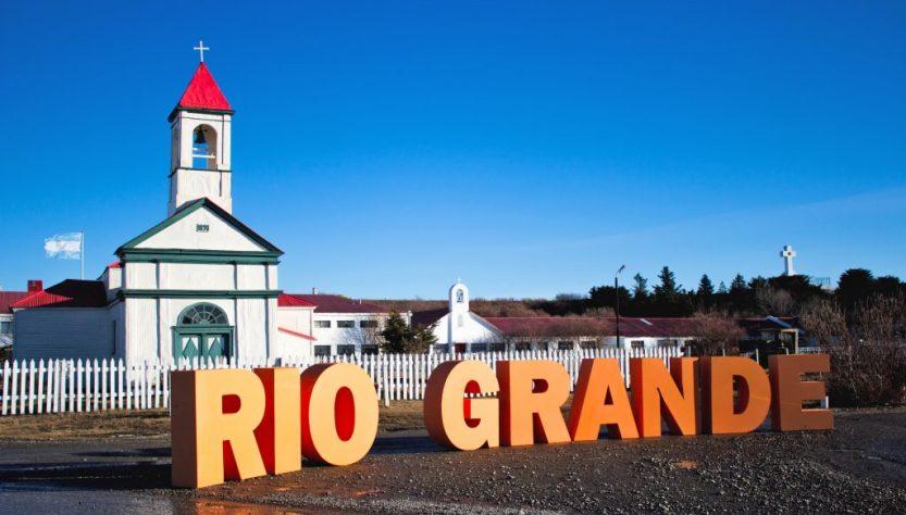 Cartel ciudad de Río Grande