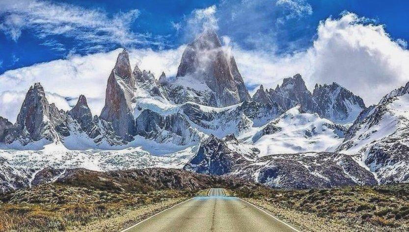 El Chlatén camino