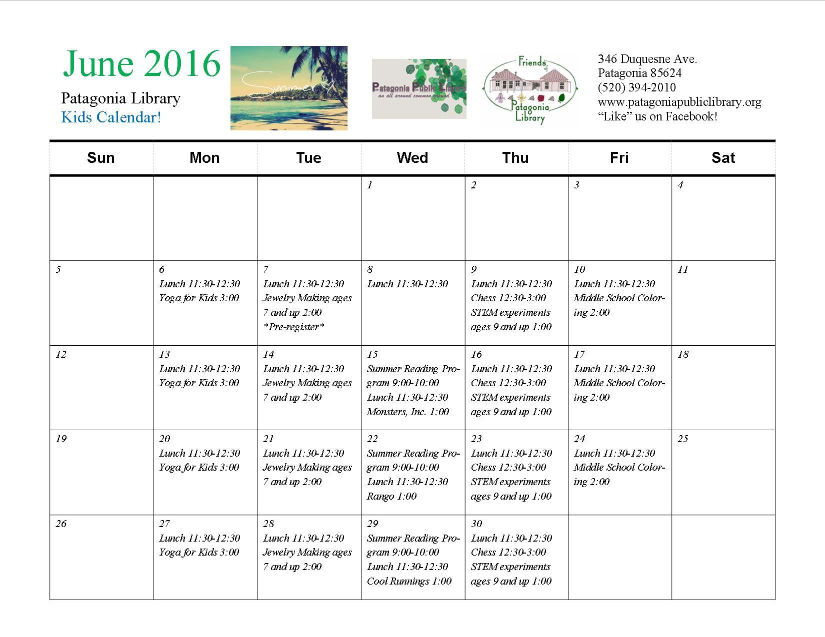 June Activities For Children