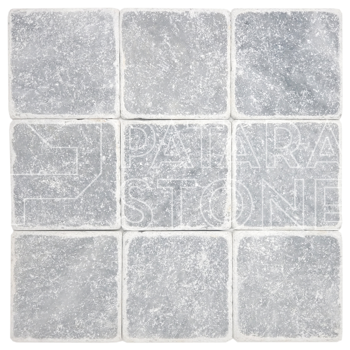mesa gray tumbled 4x4 patara stone