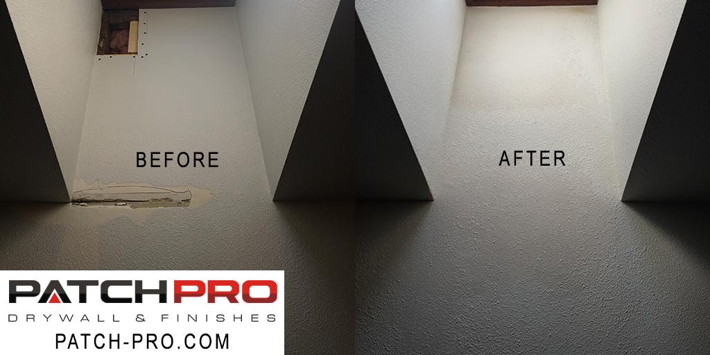 Drywall patch repair - Sherwood Oregon