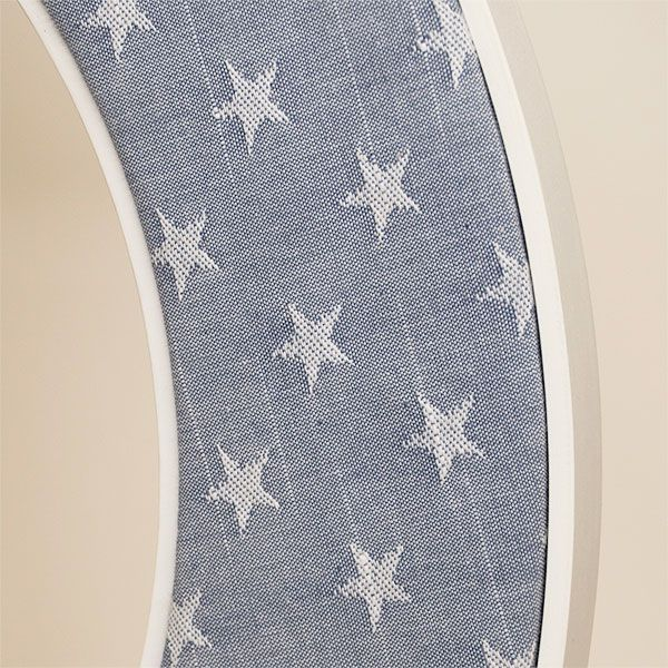 Close up of the Ella Mirror in Blue Stars
