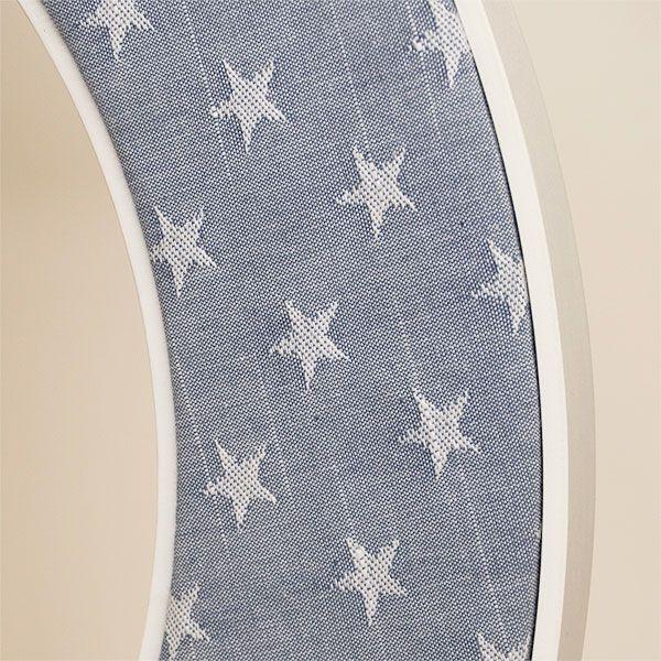 Close up of the Ella Mirror in Blue Stars