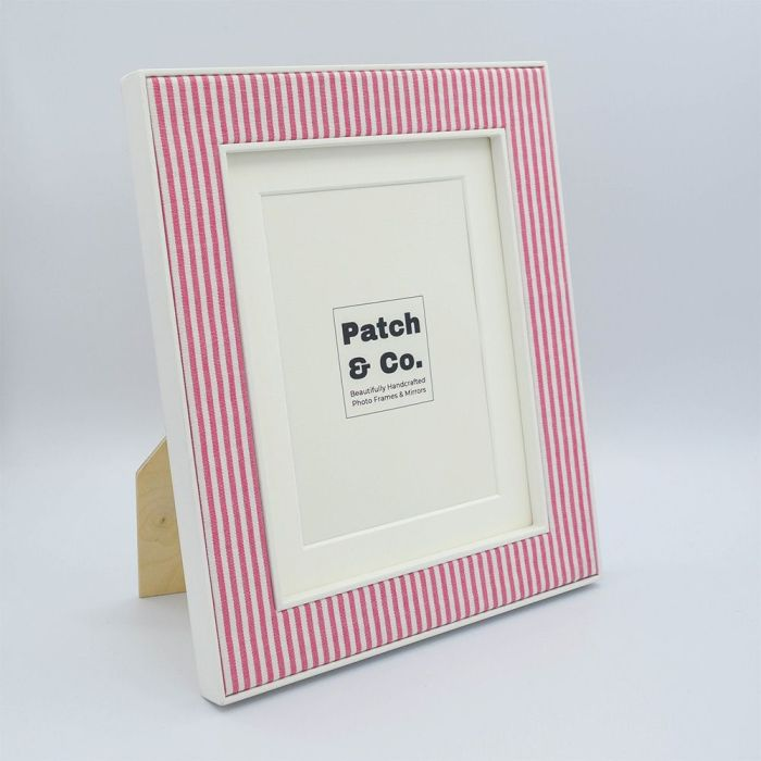 Alice Pink Photo Frame with White Frame