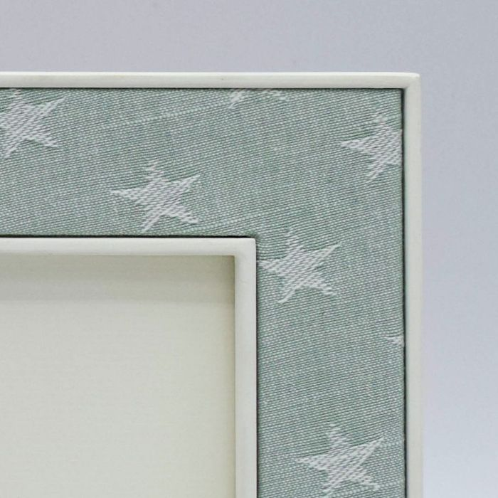 Ella Seafoam with Stars Corner Sample
