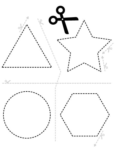 Tijeras y formas