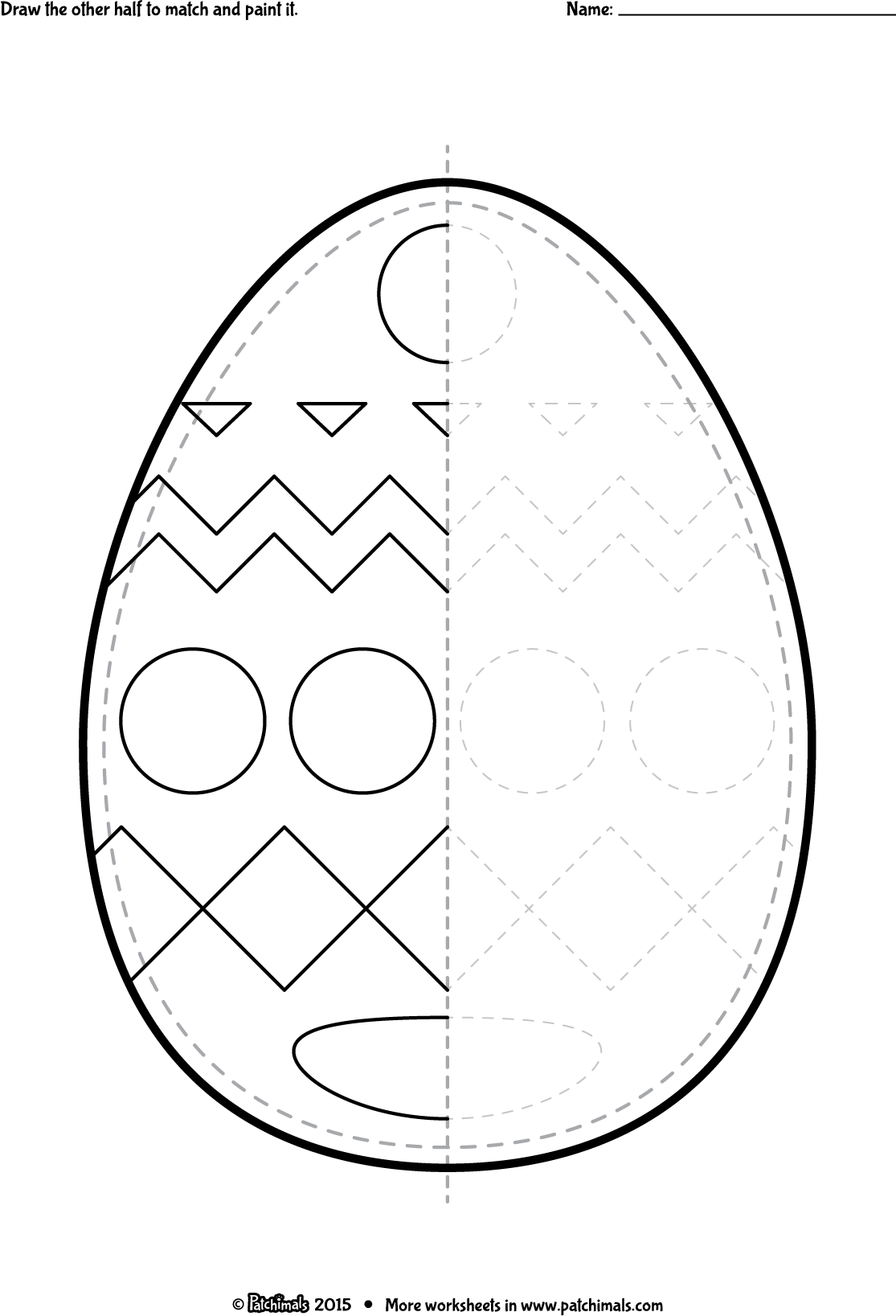 Easter Tracing