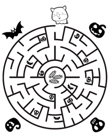 Laberinto de Halloween