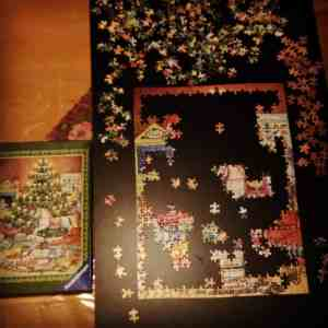 Weihnachtsvorbereitungen Puzzle