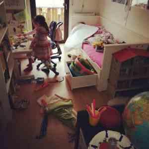 Besuch Kinderzimmer