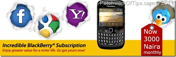 BlackBerry From MTN Nigeria