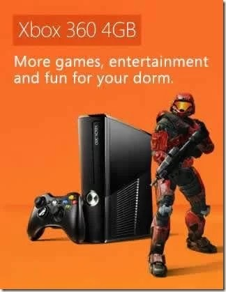 Free Xbox 360 4GB Gaming Console