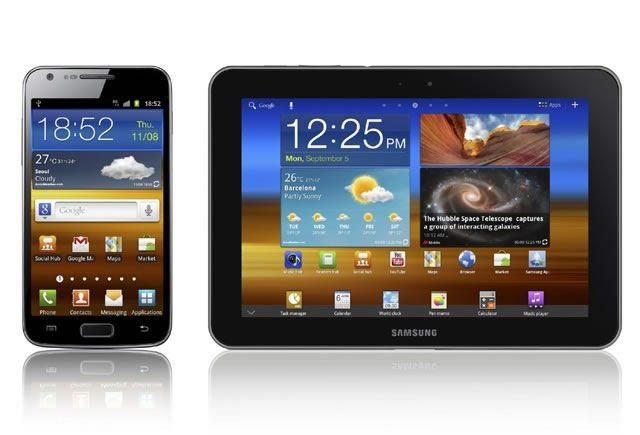 Order Samsung Galaxy S II and Galaxy Tab 8.9