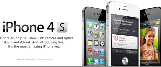 Buy The iPhone 4S with Unlimited Data Packages