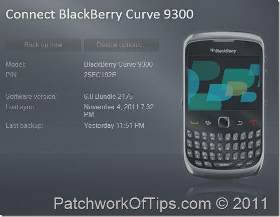 blackberry device software