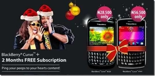 BlackBerry Curve 9360 and 8520 MTN Nigeria Promo